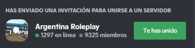 Argentina Roleplay - General Discor11