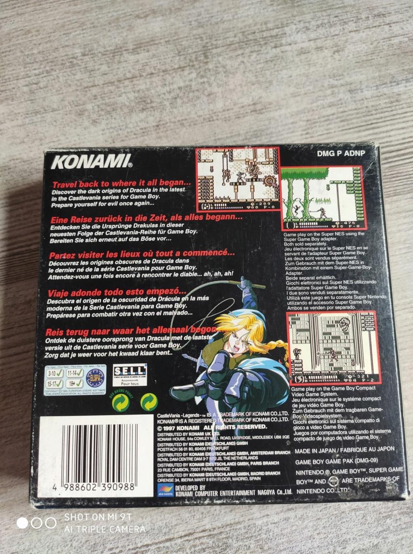 [ACH/EST] Castlevania Game boy 11815710