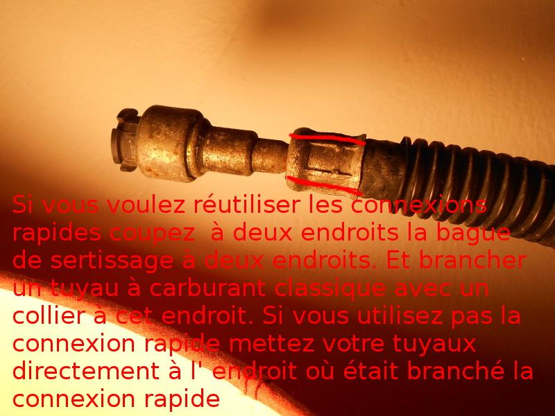 Tuyaux / conduites de carburant / essence, 2.5 L essence S2 1995 Dscn0610