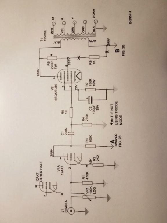Small Heath (Heathkit?) audio amplifier 20201012
