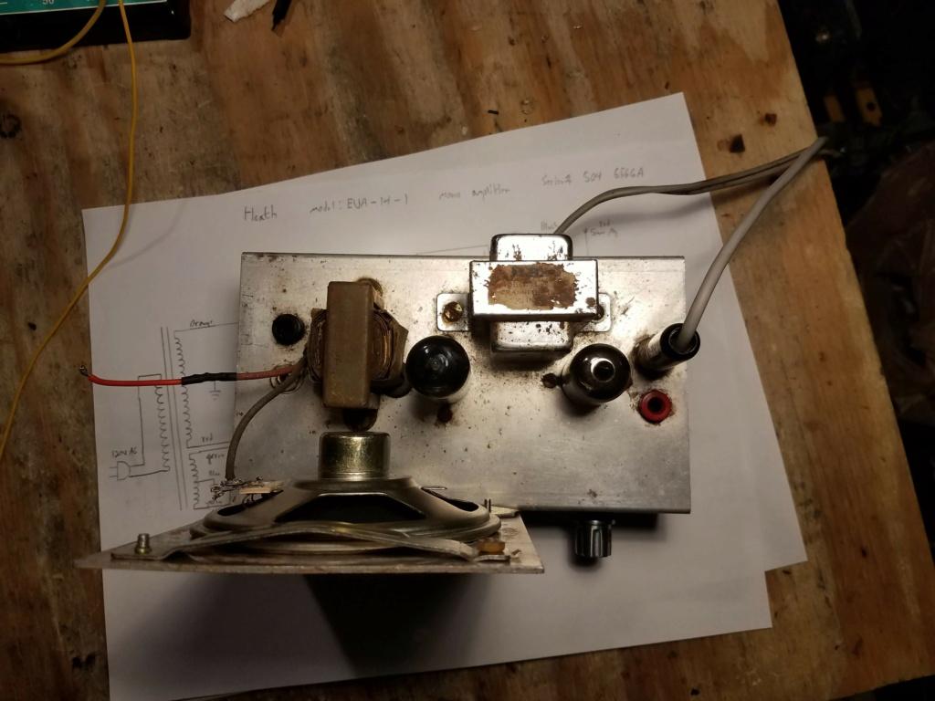 Small Heath (Heathkit?) audio amplifier 20201013