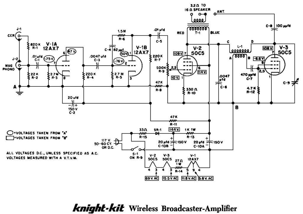 Recreation of a Knight kit broadcaster amplifier Knight10