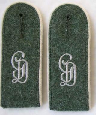 """L'uniforme """"Der Grüne Landser"""" Gd-em-10"""