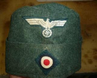 """L'uniforme """"Der Grüne Landser"""" P1010810"""