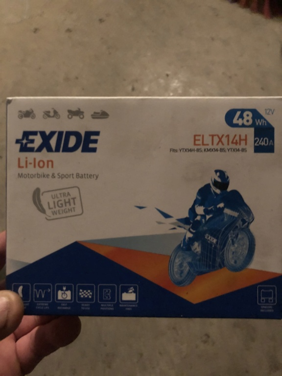 Batterie lithium  9c8d6f10