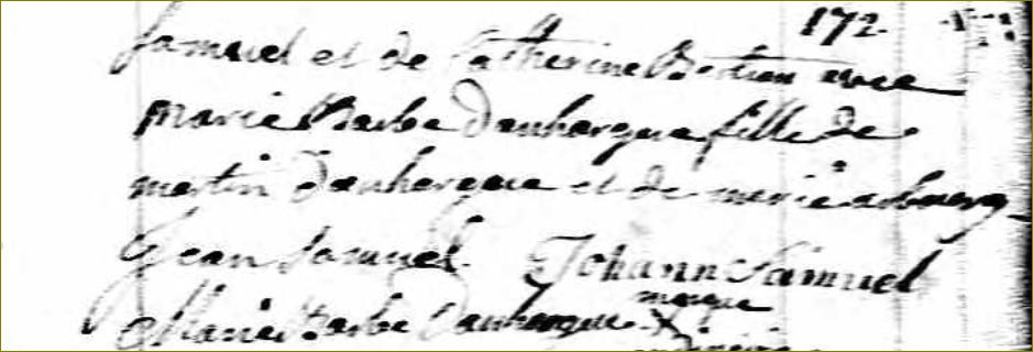 Famille Samuel au Québec Samuel11