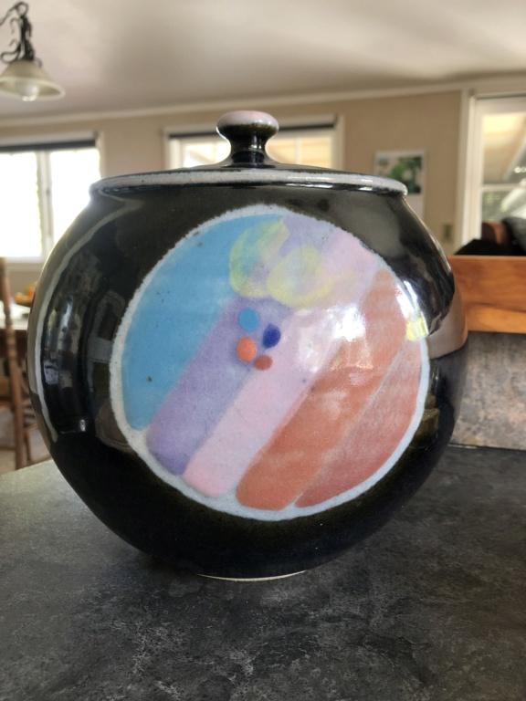 Who made my cookie jar?  Wayne Porteous made it. 9e84ae10