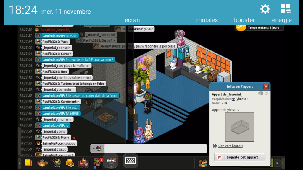 [P.N] - Rapport de Patrouille de :.android.:=VIP Screen83