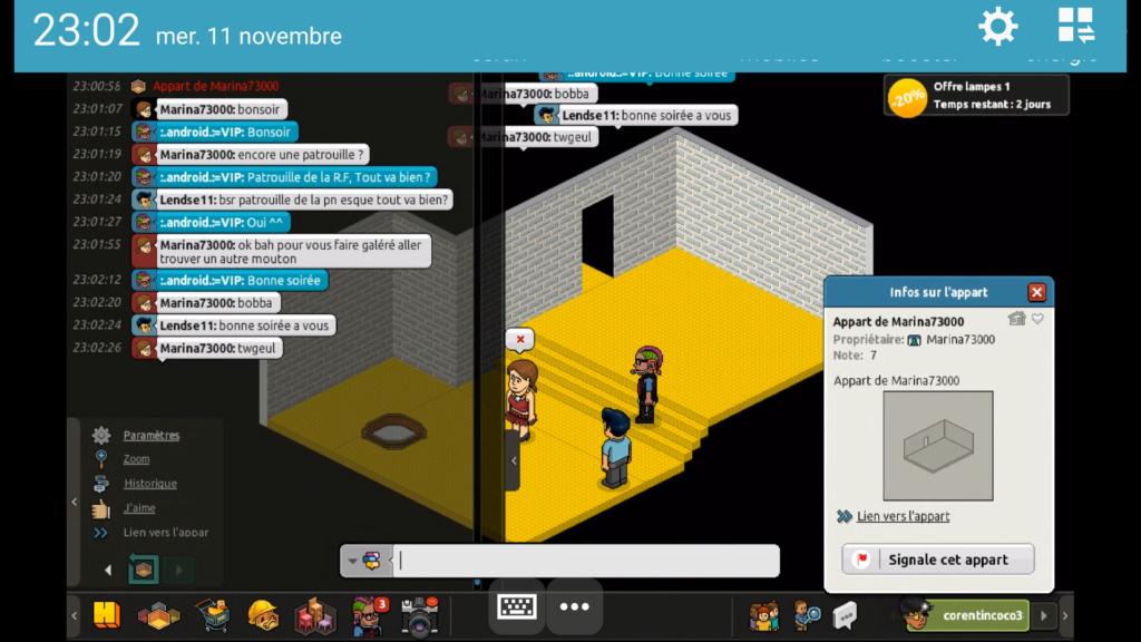 [P.N] - Rapport de Patrouille de :.android.:=VIP Screen87