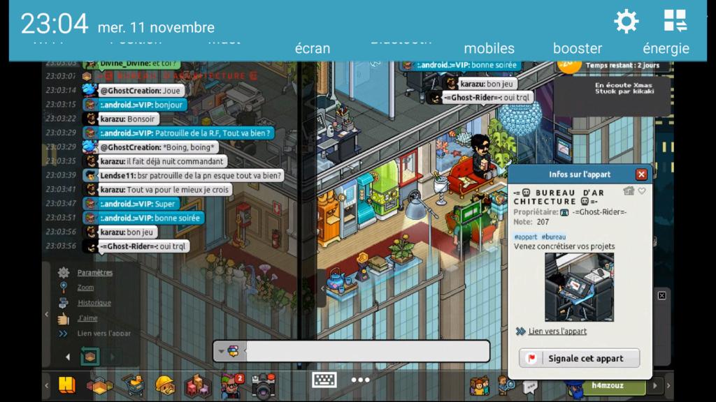 [P.N] - Rapport de Patrouille de :.android.:=VIP Screen88