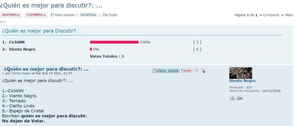 Voto por el compañero Shetland para Moderador. 6y10