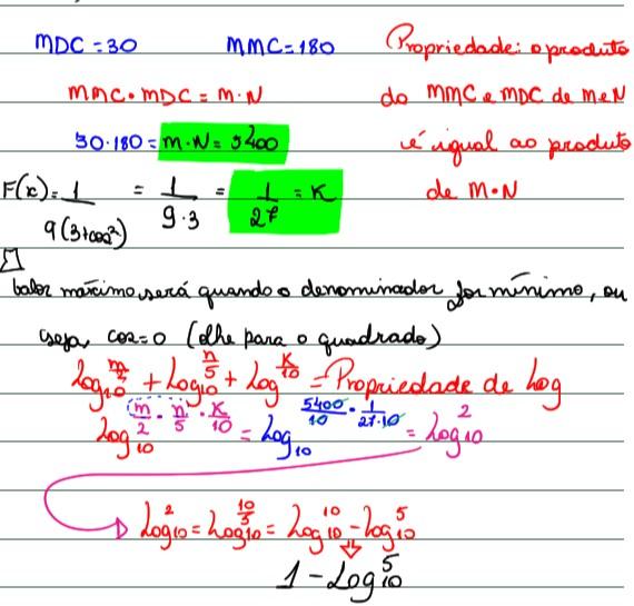 Função Trigonométrica, logaritmo e divisores  Captur22