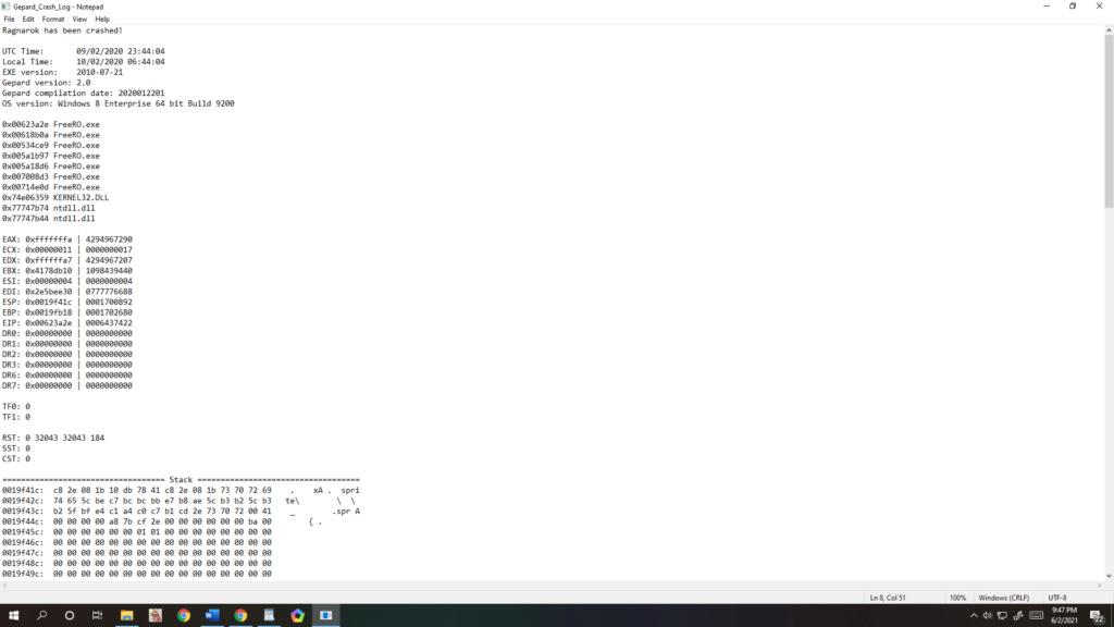 crash_log min, dibantu lah Untitl11