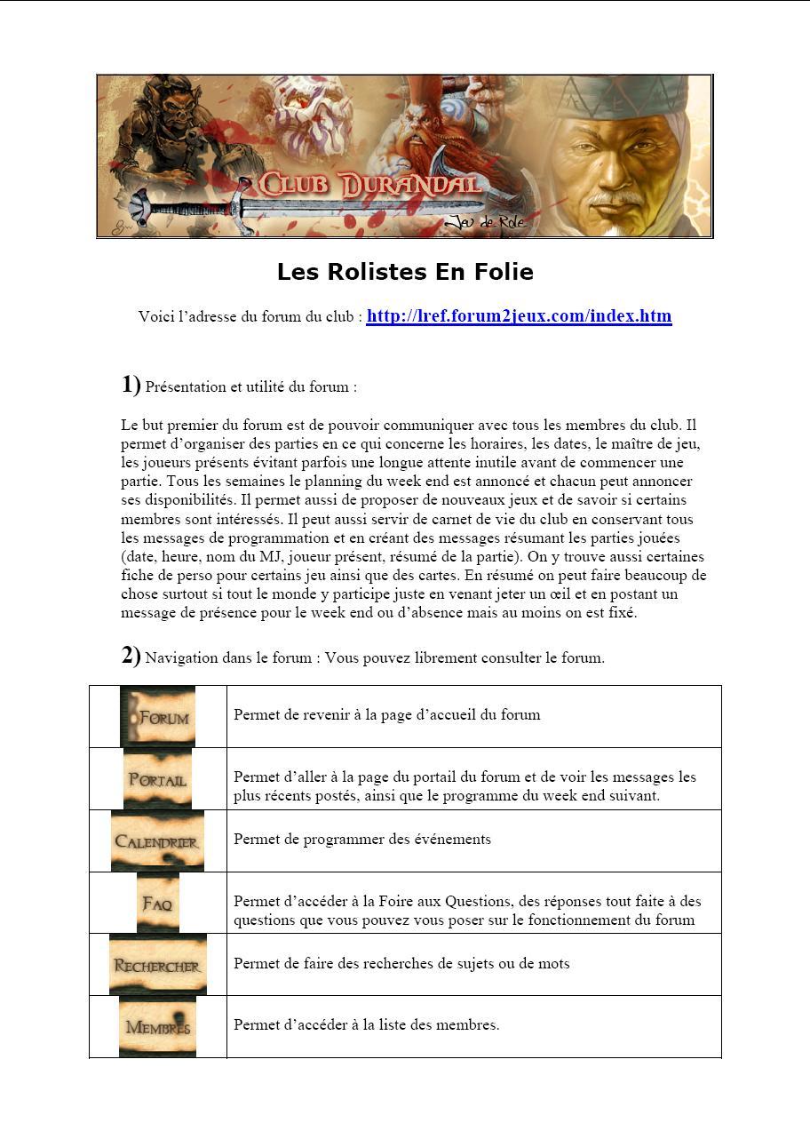Documentation pour Aprendre à Utiliser le Forum! 111