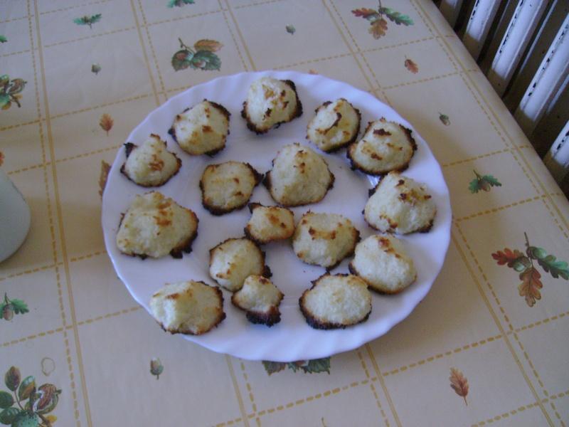 macaron aux cocos (sans oeufs / sans lait / sans gluten) Pict0127