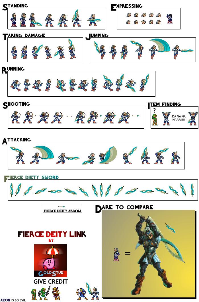 Sprite Zelda Fierce10