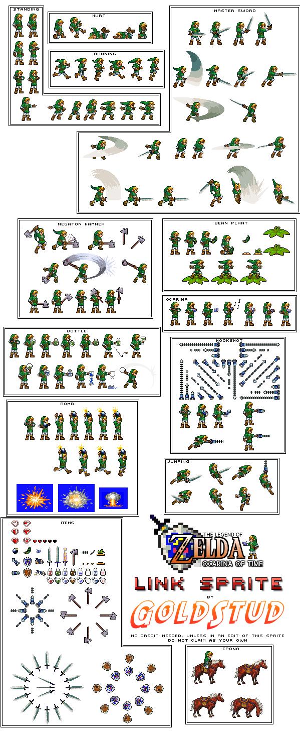 Sprite Zelda Link_c10