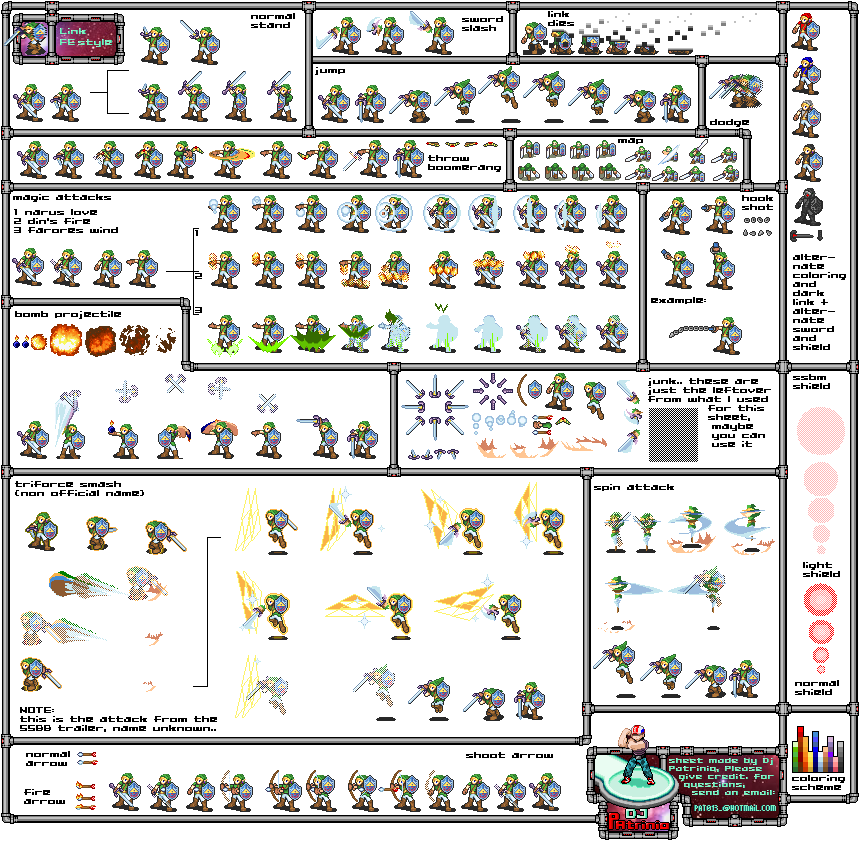 Sprite Zelda Linkf310