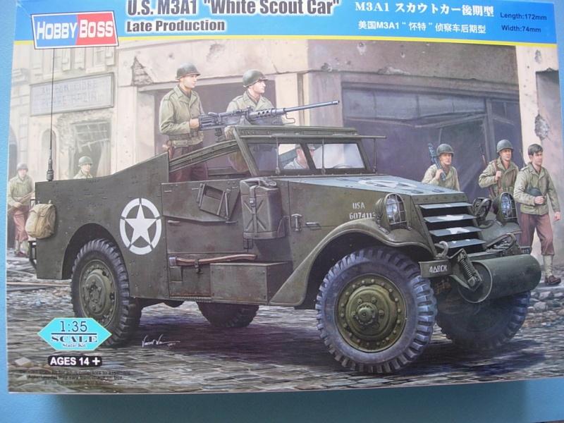 M3A1 Scout car Hobby Boss 1/35 Dscn0096