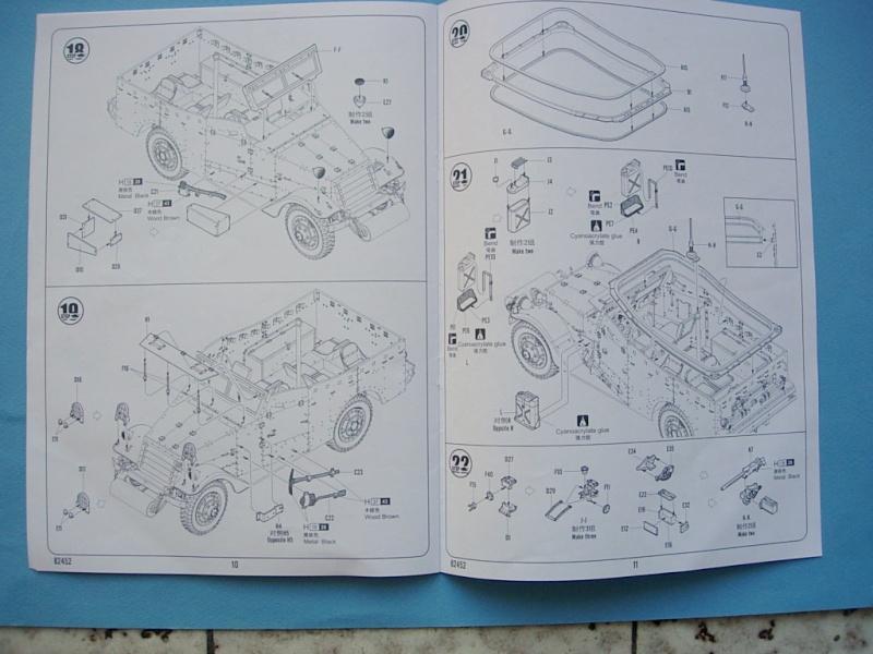 M3A1 Scout car Hobby Boss 1/35 Dscn0103