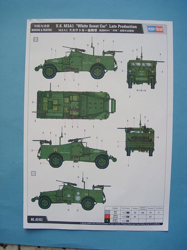 M3A1 Scout car Hobby Boss 1/35 Dscn0106