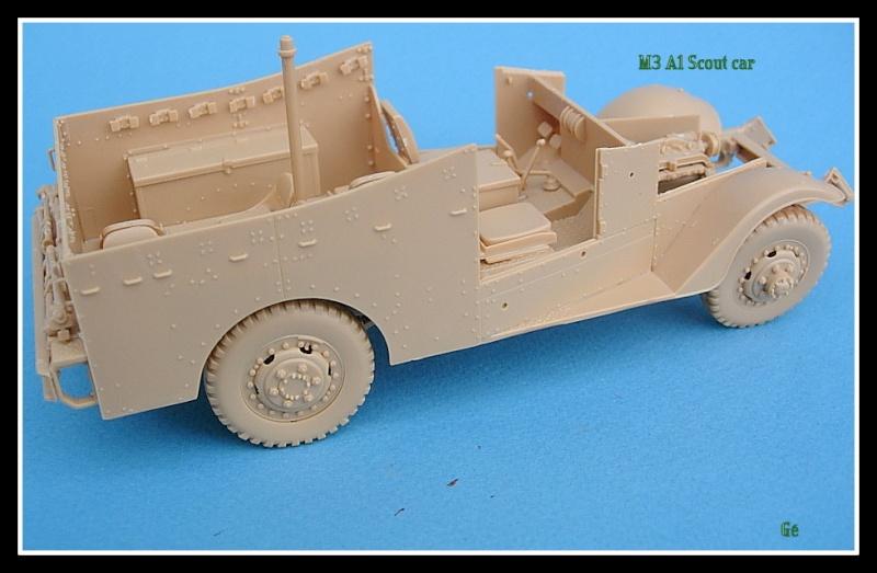 M3A1 Scout car Hobby Boss 1/35 Dscn0147