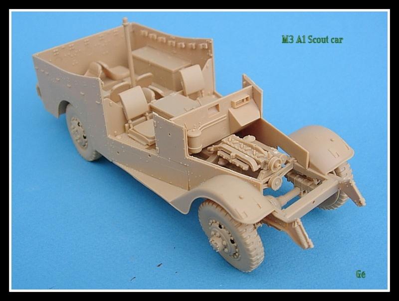 M3A1 Scout car Hobby Boss 1/35 Dscn0148
