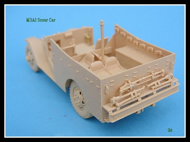 M3A1 Scout car Hobby Boss 1/35 Dscn0149