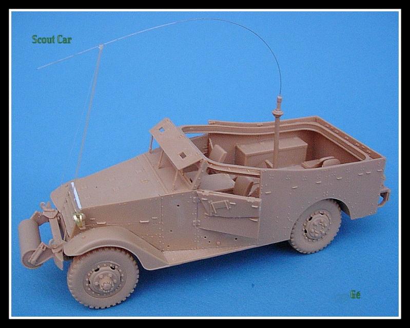 M3A1 Scout car Hobby Boss 1/35 Dscn0150