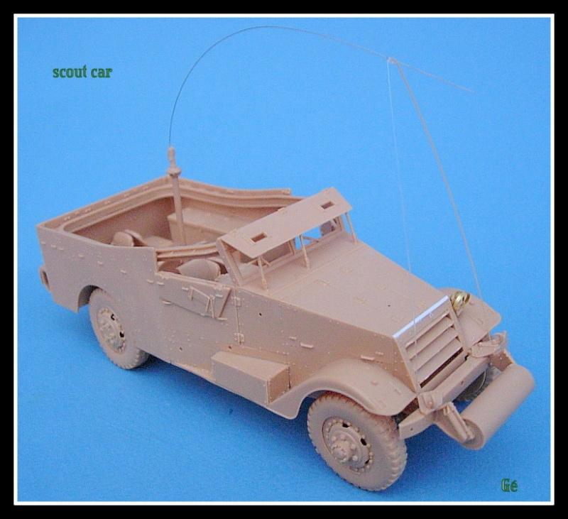 M3A1 Scout car Hobby Boss 1/35 Dscn0151