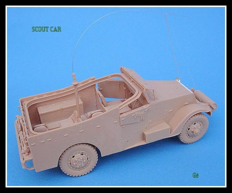 M3A1 Scout car Hobby Boss 1/35 Dscn0152