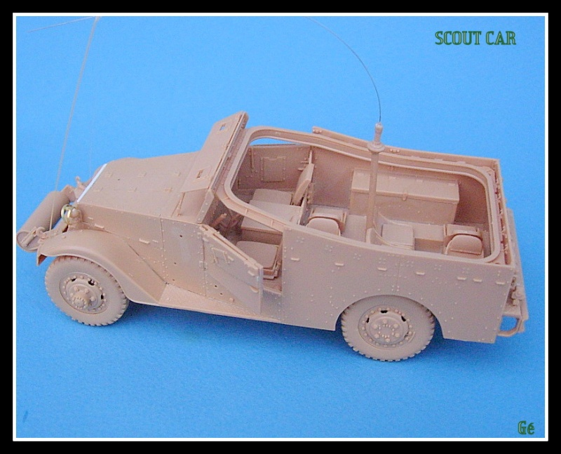 M3A1 Scout car Hobby Boss 1/35 Dscn0153