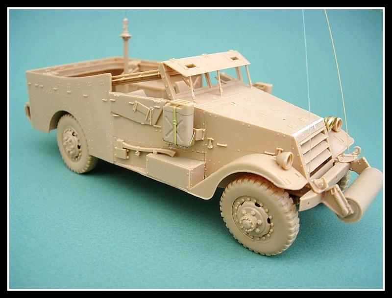 M3A1 Scout car Hobby Boss 1/35 Dscn0161