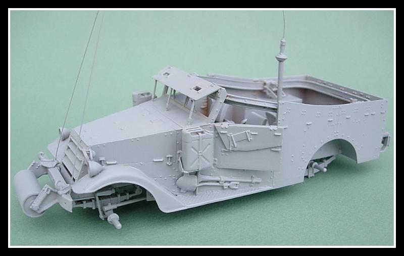 M3A1 Scout car Hobby Boss 1/35 Dscn0162