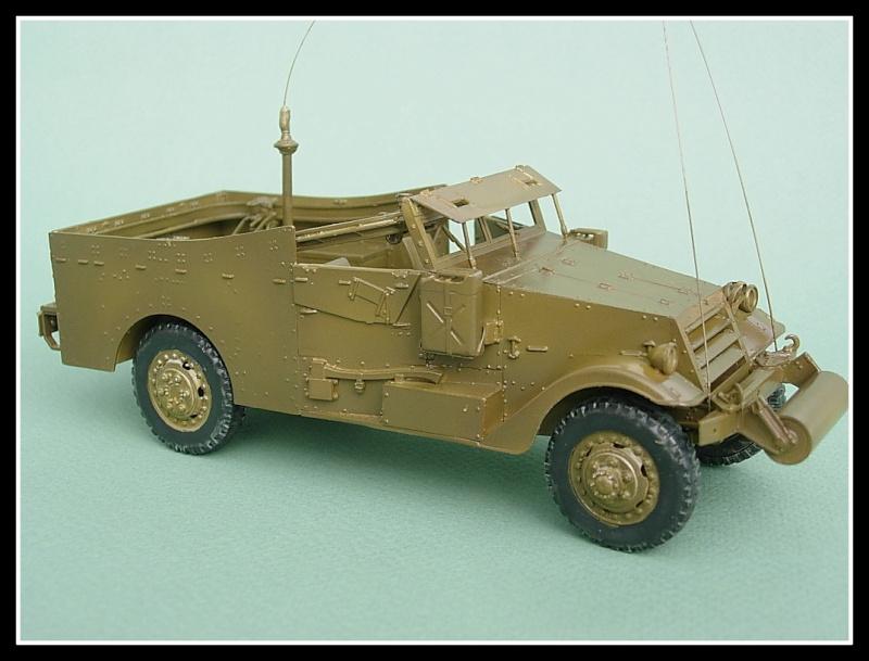 M3A1 Scout car Hobby Boss 1/35 Dscn0164