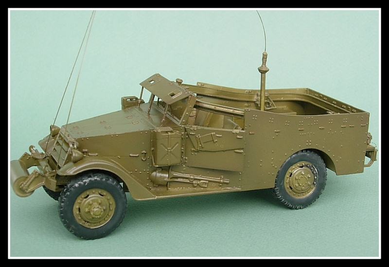M3A1 Scout car Hobby Boss 1/35 Dscn0165