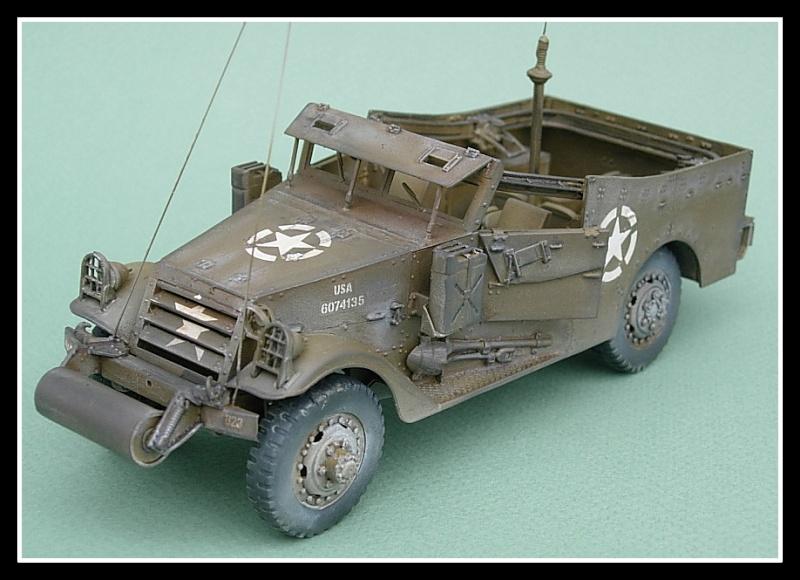 M3A1 Scout car Hobby Boss 1/35 Dscn0168