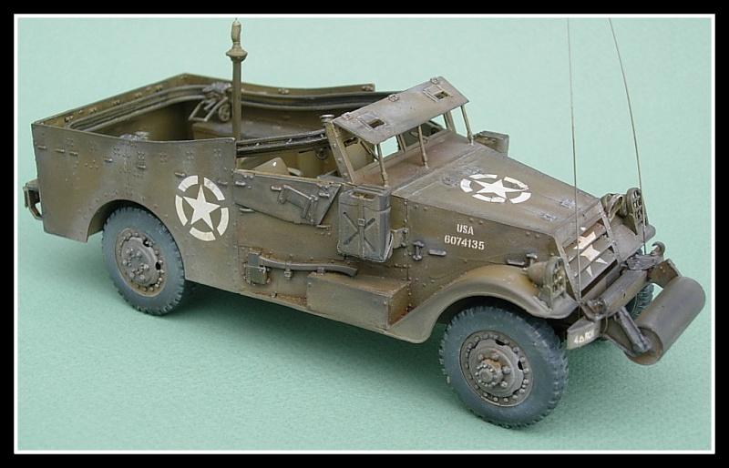 M3A1 Scout car Hobby Boss 1/35 Dscn0169