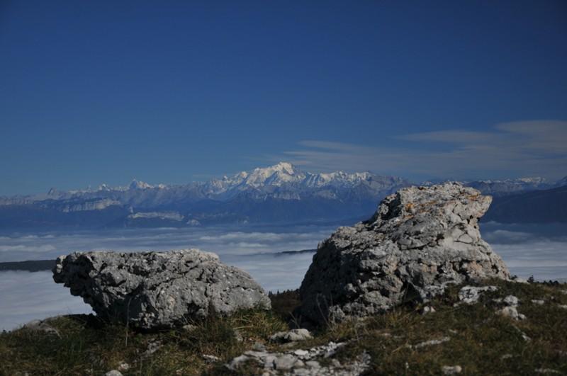 mer de nuage sur coucher de soleil Alpes_10