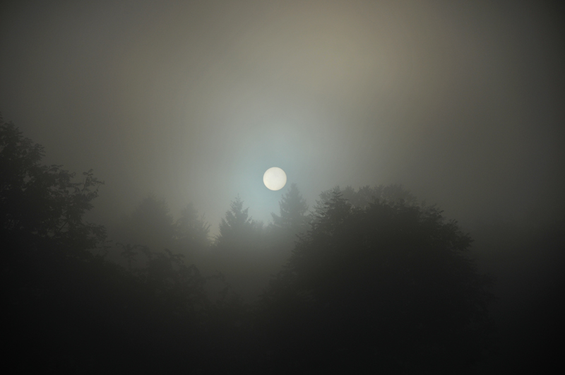 mer de nuage sur coucher de soleil Couche13