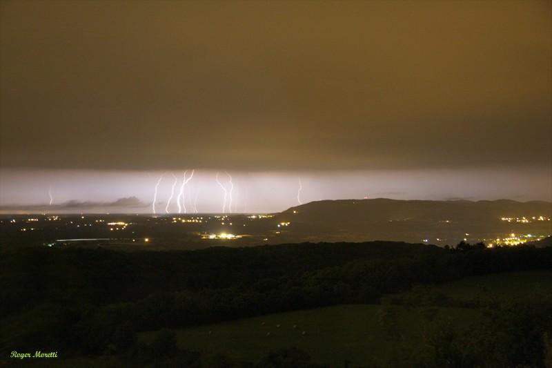 encore un orage violent . Photo162
