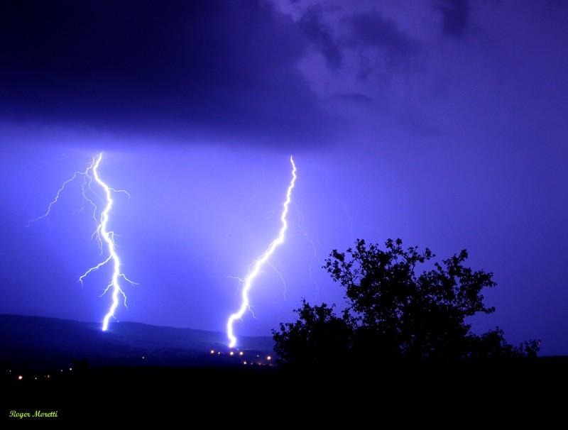 encore un orage violent . Photo163