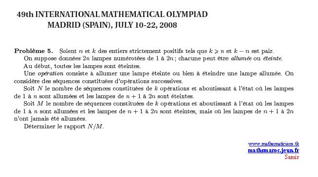 Problem 5 IMO 2008 Imo510