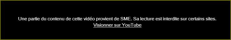 Intégrer les vidéos youtube Sme10