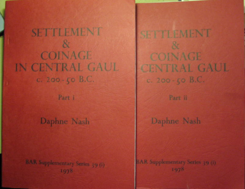 Settlement & coinage in central Gaul, Daphne Nash, 1978. 00241