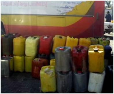 Les dangers du carburant frelaté vendu illégalement Carbur10