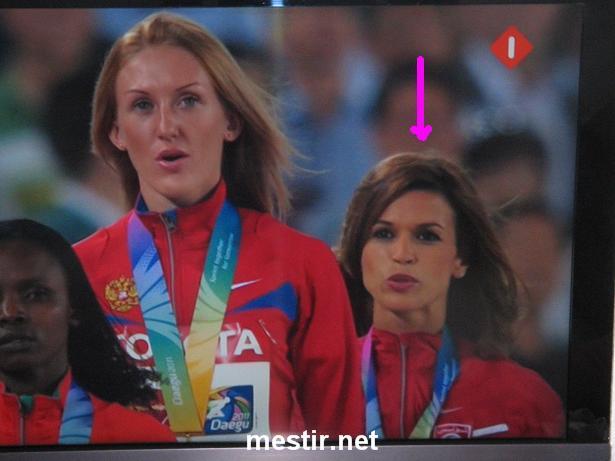 Habiba Ghribi remporte la médaille d'argent du 3000m steeple à Daegu Image10