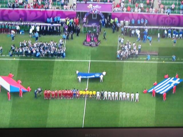 Euro 2012 (12 juni)Grèce / République Tchèque - Pologne / Russie Mesti118
