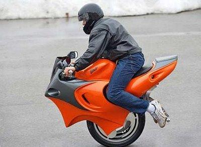 Moto monocycle... Unibik10