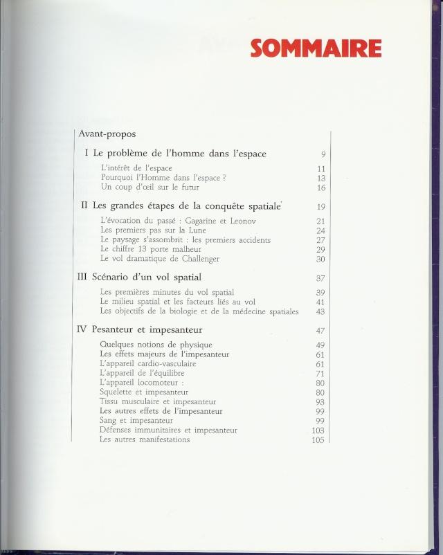 Livres : ouvrage de médecine spatiale en français 05-17-11